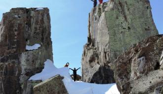 Abdurrezzak Dağı'na zirve tırmanışı
