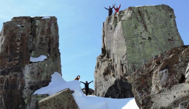 Abdurrezzak Dağına zirve tırmanışı