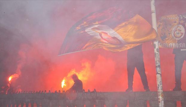 Danimarkada Galatasarayın şampiyonluk kutlaması