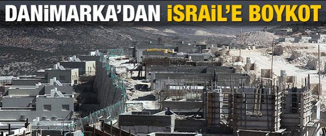 Danimarka'dan İsrail'e tepki