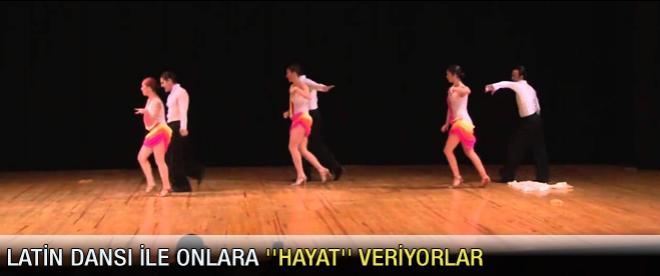 Latin dansı ile onlara ''hayat'' veriyorlar