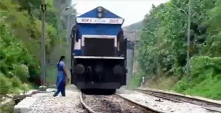 testKoca treni farketmeyen kadın