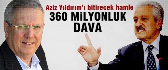 Mehmet Ali Aydınlar'dan Aziz Yıldırım'a dava