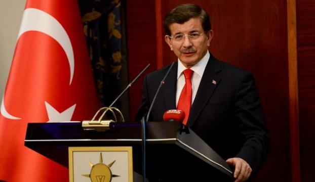 Davutoğlu resti çekti