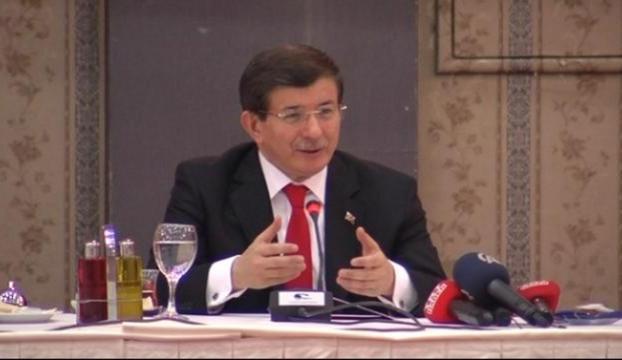 Başbakan Davutoğlu Ankarada