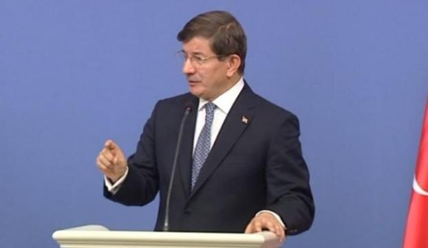 """Davutoğlundan Demirtaşa: """"Tekrar uyarıyorum"""""""