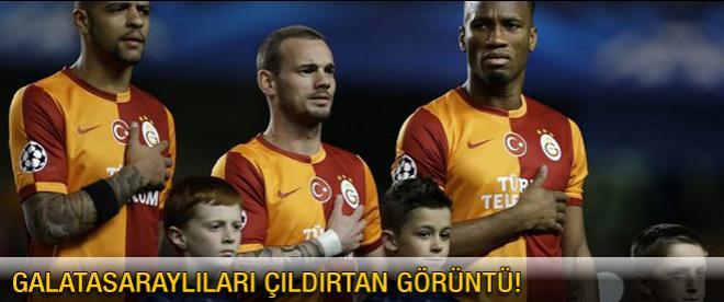 Galatasaraylıları çıldırtan görüntü!