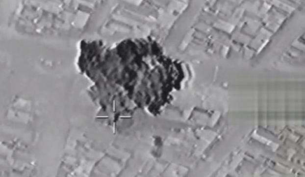 Suriyede 256 hedef yerle bir edildi