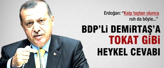 BDP'li Demirtaş'a tokat gibi cevap
