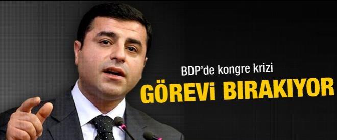 BDP'de Selahattin Demirtaş depremi