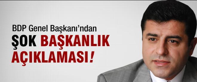 Demirtaş'tan şok başkanlık kararı!