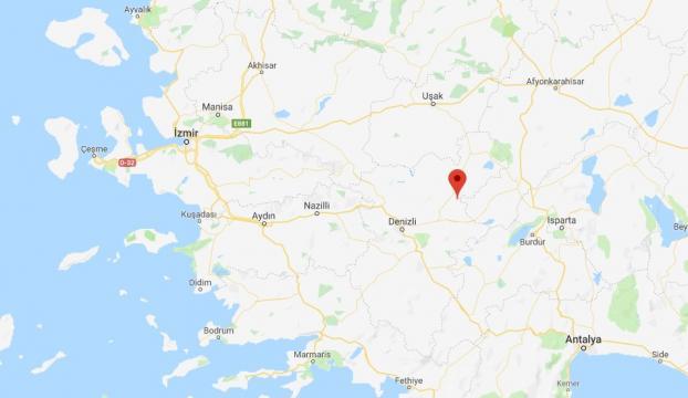Denizlide 6 büyüklüğünde deprem