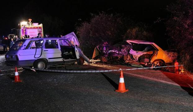 Denizlide trafik kazası: 4 ölü, 4 yaralı
