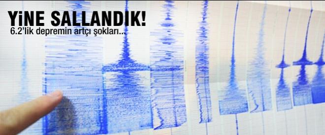 Ege'de yine deprem oldu!