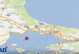 Marmara Denizi'nde 4,2 büyüklüğünde deprem