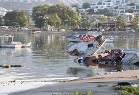 Deprem sonrası Bodrum'da 10 santimetre tsunami oluştu