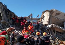 AFAD: Elazığ'da 948 artçı deprem meydana geldi
