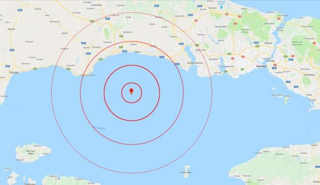 İstanbulda deprem 4,6