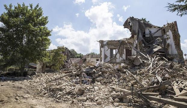 İtalyada şiddetli deprem