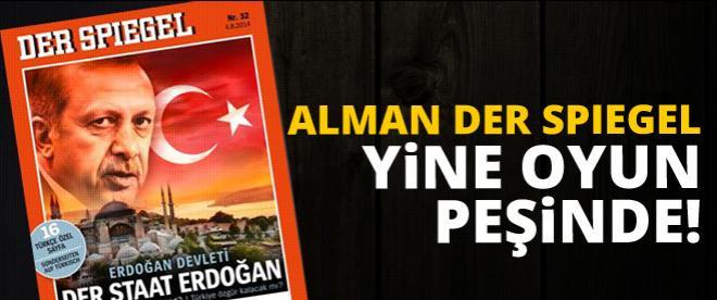 Alman medyasından Erdoğan'a çirkin oyun