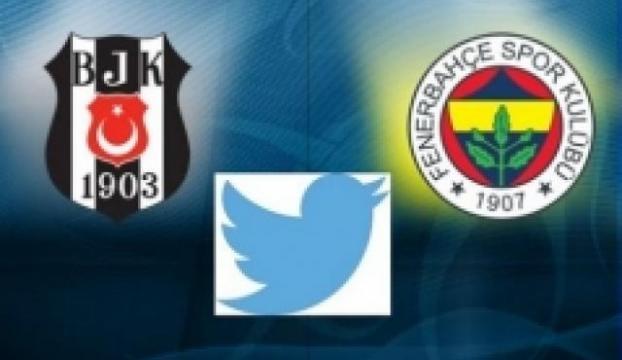 Derbi öncesi Fenerbahçe ve Beşiktaşlı futbolcuların Twitter karnesi