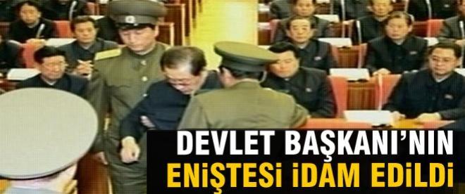 Devlet Başkanı eniştesini idam ettirdi