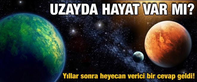 Diğer gezegenlerde hayat var mı?