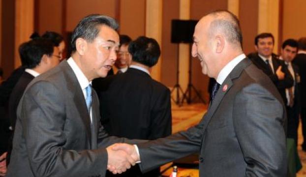 Dışişleri Bakanı Çavuşoğlu Çinde
