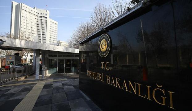 Dışişleri Bakanlığı: APnin kararı tarafımızdan yok hükmünde sayılmaktadır