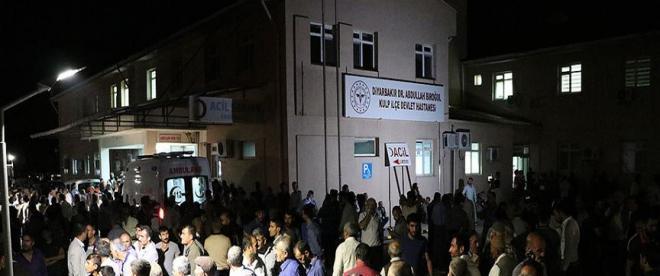 Diyarbakırda sivilleri taşıyan araca terör saldırısı: 7 şehit, 10 yaralı