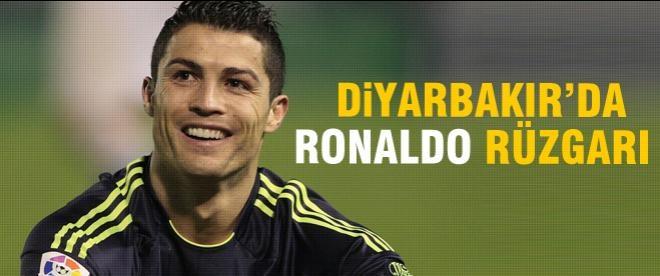 Diyarbakır'da Ronaldo rüzgârı