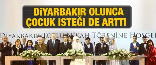 Diyarbakır'da tarihi nikah