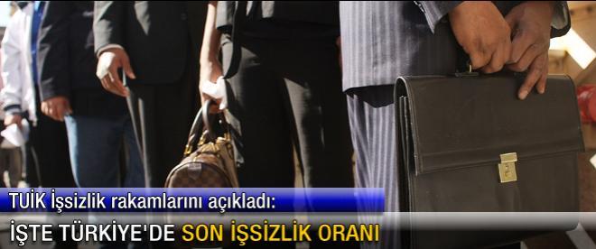 İşte Türkiye'de son işsizlik oranı