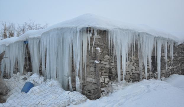 Doğu Anadoluda dondurucu soğuk