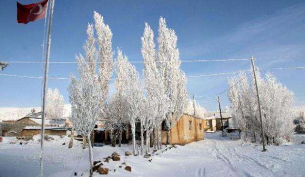 En düşük sıcaklık Karsta sıfırın altında 32 derece