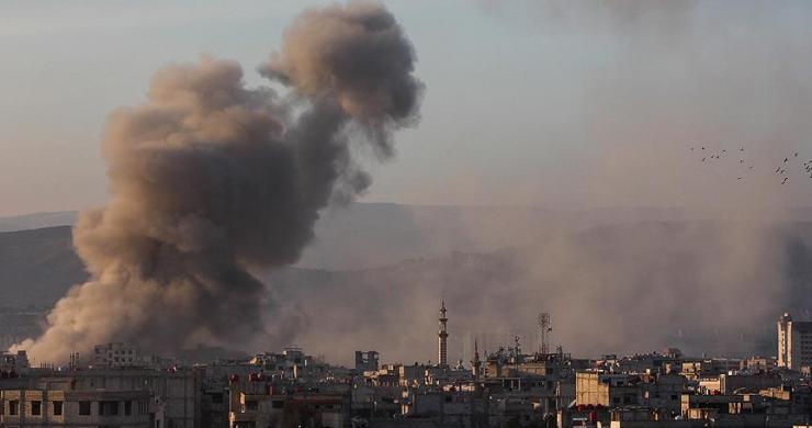 Doğu Guta'ya hava saldırısı : 12 ölü