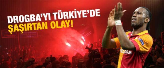 Drogba'yı Türkiye'de şaşırtan olay