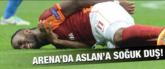 Galatasaray Devler Ligi'ne çok kötü başladı