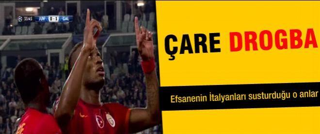 Drogba Juventus'u da affetmedi