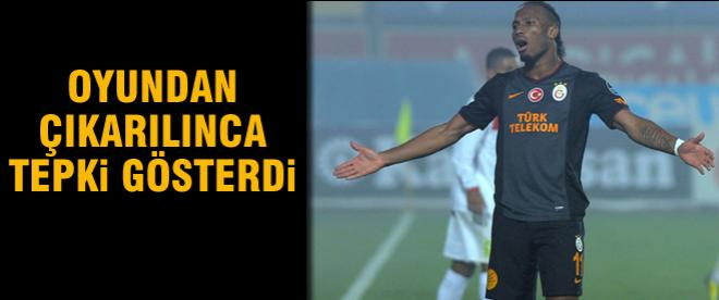 Drogba Mancini'ye tepki gösterdi