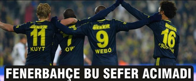 Fenerbahçe, Akhisar'a acımadı