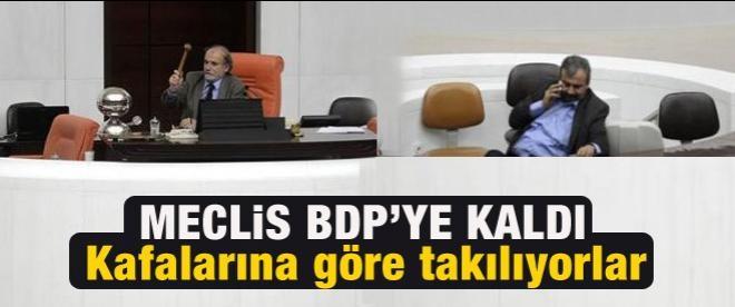 Meclis BDP'li ve HDP'li vekillere kaldı