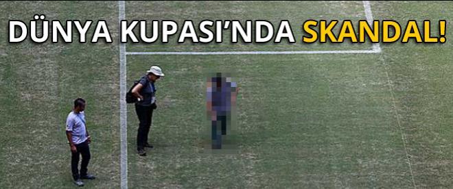 Dünya Kupası'nda skandal!