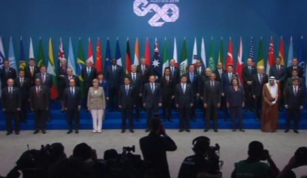 """Dünya liderlerinden """"aile pozu"""""""