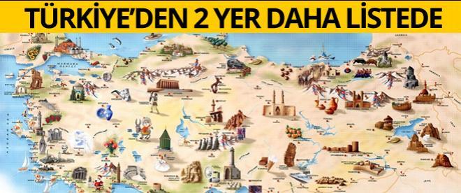 Türkiye'den iki yer daha Dünya Miras Listesi'nde