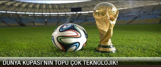 Dünya Kupası resmi topu donatıldı!