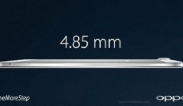 Dünyanın en ince telefonu Oppo R5