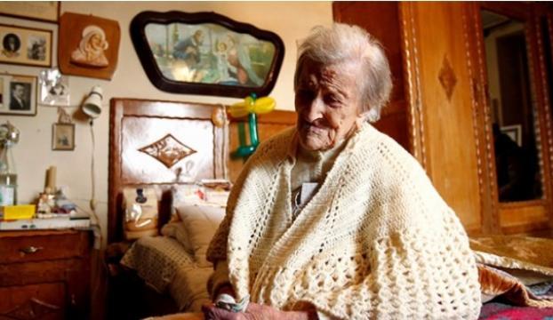 Dünyanın en yaşlı kadını hayatını kaybetti!