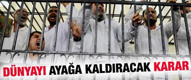 Mısır'da 683 kişi idam edilecek