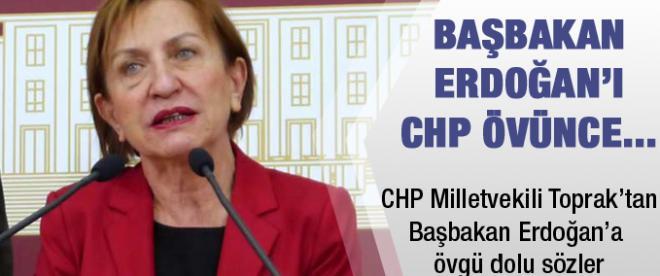 CHP'li milletvekili: ''Erdoğan karizmatik ve halk adamı''
